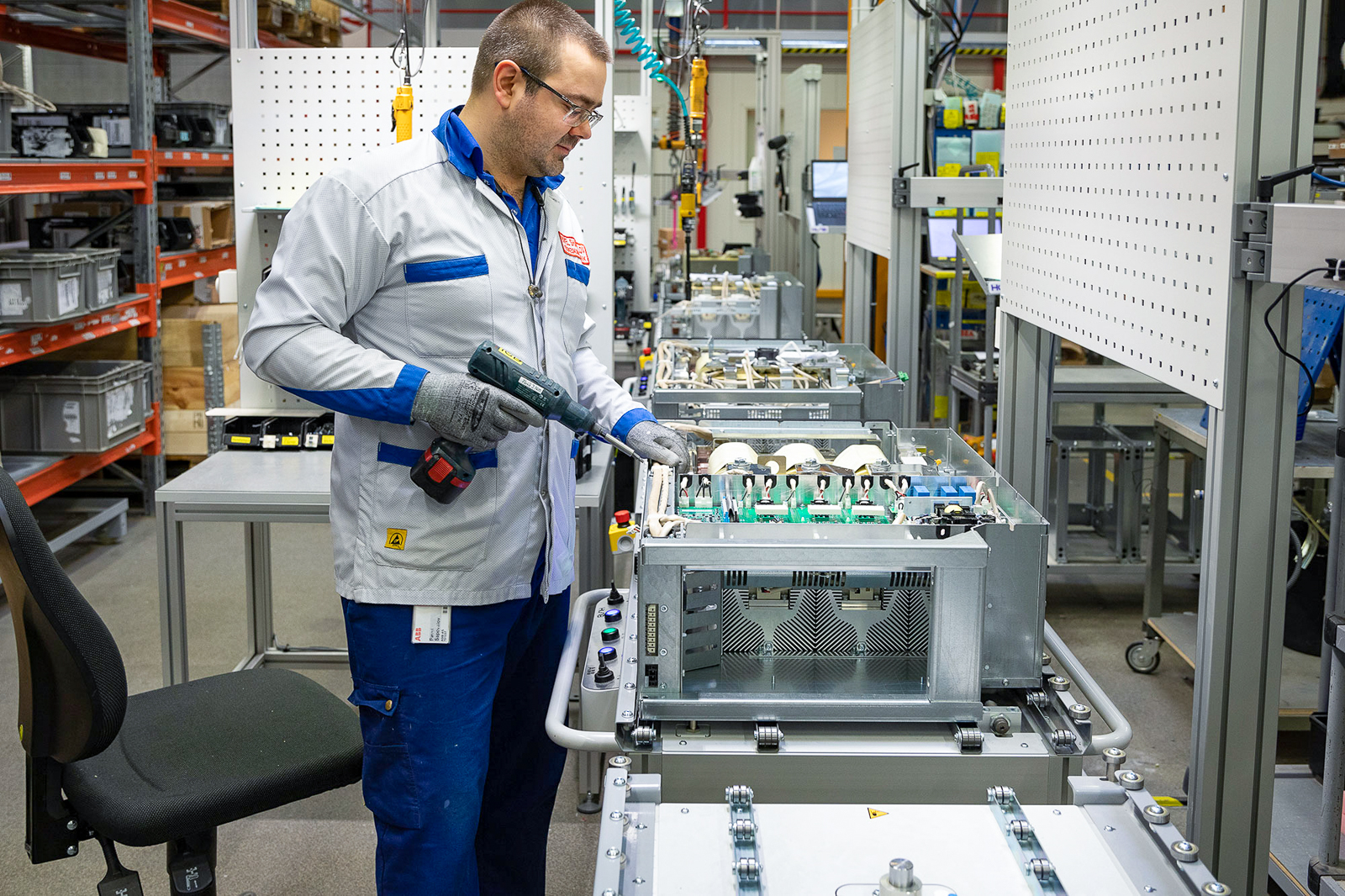 Hoob Assembly Line in ABB